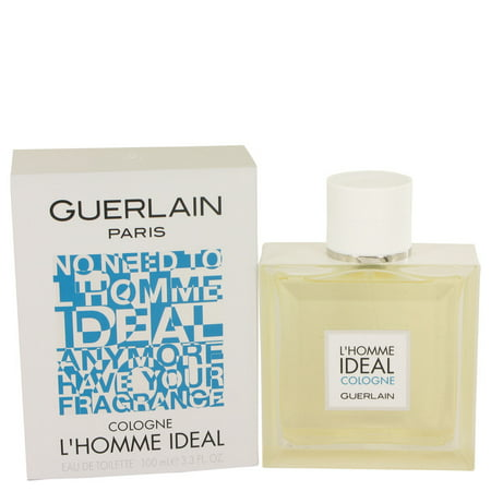 Guerlain L'homme Ideal Cologne Eau De Toilette Spray for Men 3.3