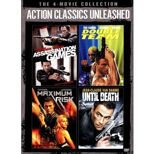 Action Classics Unleashed: Assassination Games / Double Team / Maximum Risk / Until Death (Anamorphic Widescreen)