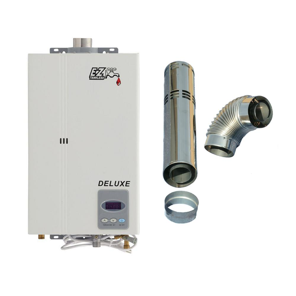EZ Deluxe Direct Vent Tankless Water Heater - Natural Gas