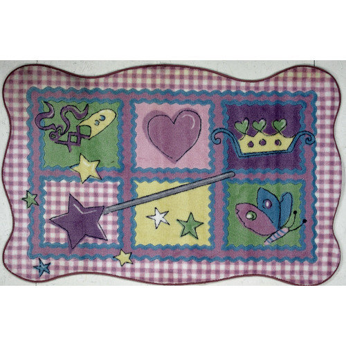 Fun Rugs Supreme Fairy Quilt Area Rug