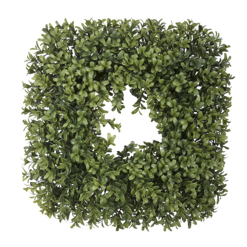 House of Silk Flowers Inc. 14'' Artificial Boxwood Wreath...