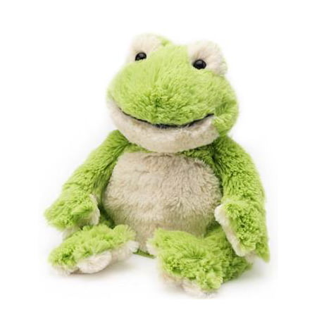FROG - WARMIES Cozy Plush Heatable Lavender Scented Stuffed Animal