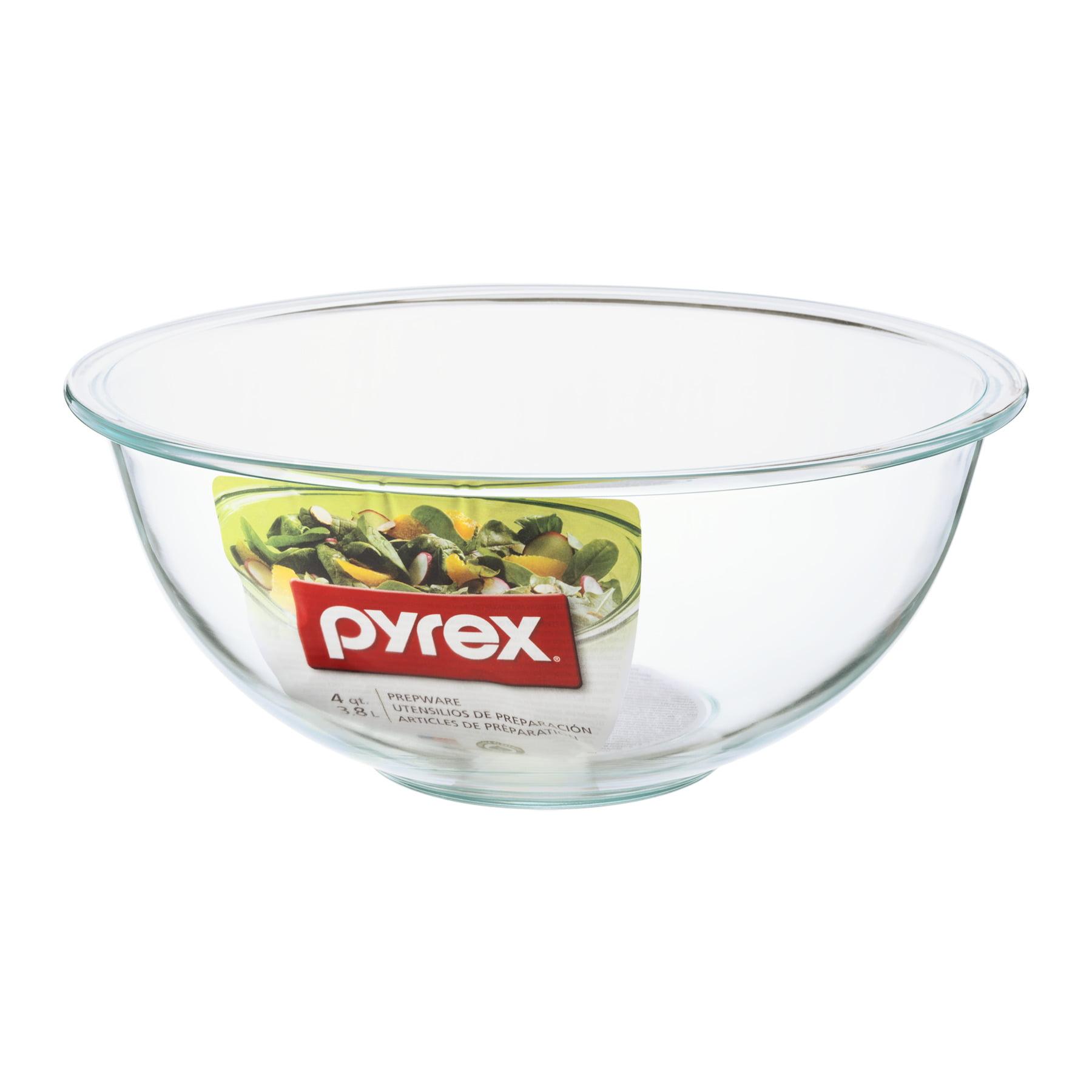 Pyrex Prepware Mixing Bowl Clear - 4 QT, 4.0 QT - Walmart.com