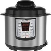 Instant Pot LUX60 V3 6 Qt 6-in-1 Multi-Use Programmable Pressure Cooker, Slow Cooker, Rice Cooker, Saut, Steamer, and Warmer