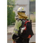 LAMINATED POSTER Fire Fire Service Training Fireproof Firefighter Poster Print 24 x 36