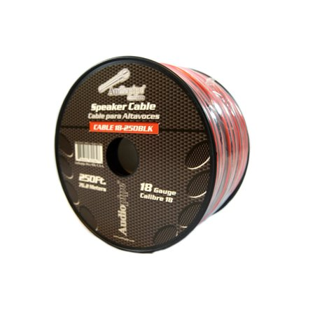 Speaker Wire 18 GA 250 Feet Red Black Stranded Copper Clad Home Audio