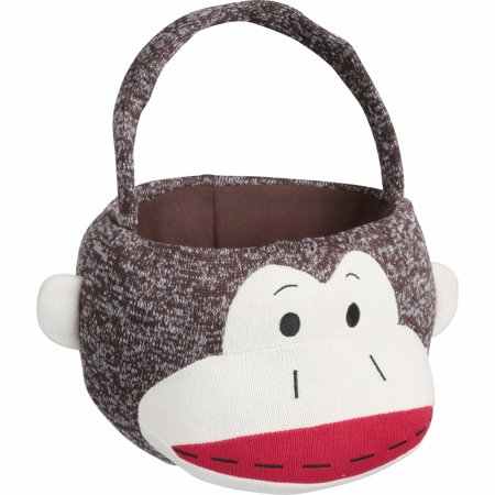 Dan Dee® Collector's Choice® Sock Monkey™ Easter Basket