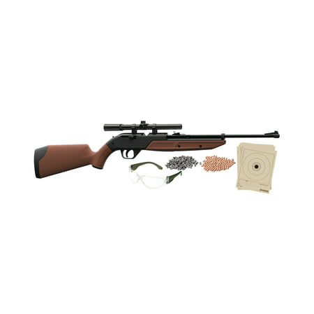 Crosman 760 Pumpmaster .177 Caliber Air Rifle with Scope, Ammo, glasses and targets, (32 Caliber Black Powder Rifle For Sale)