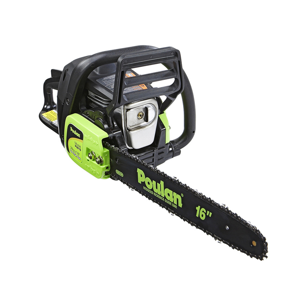 "Poulan 16"" Inch 2-Cycle 38 CC Chainsaw P3816 Factory Reconditioned by Poulan"