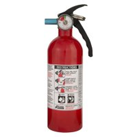 Kidde 21005944MTL Kidde 2 lbs. Red Disposable Basic Fire Extinguisher with Ratin