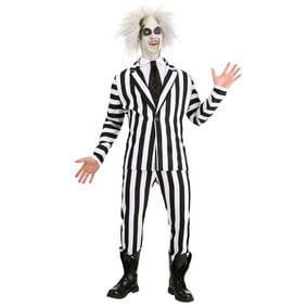 Beetlejuice Deluxe Adult Halloween Costume Walmart Com Walmart Com