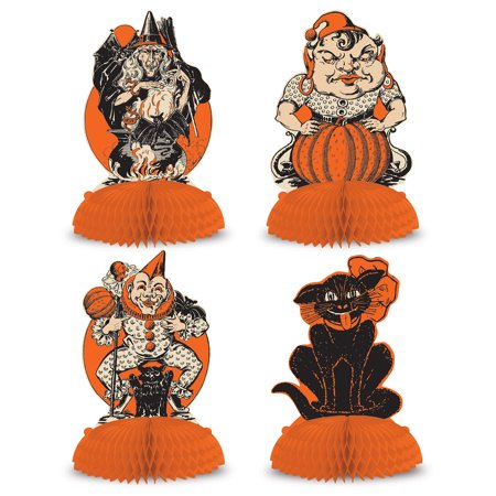 Vintage Halloween Centerpieces - Wedding Halloween Centerpieces