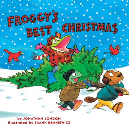 Froggy's Best Christmas - Audiobook