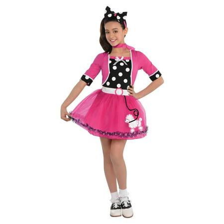 1950s Doo Wop Darling Girls (Children's 1950's Costumes)