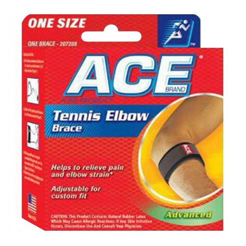 Ace Tennis Elbow Air Cushioned Brace, One Size, Model: 5323 - 1 Ea