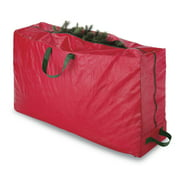 "Whitmor Rolling Christmas Tree Bag Extra-large to fit up to 9-ft Tree - Red - 50"" x 11.5"" x 27"""