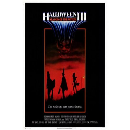 Pop Culture Graphics MOVED0892 Halloween 3 Season of the Witch Movie Poster, 11 x 17 - 2017 Pop Culture Halloween