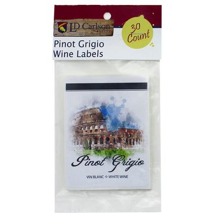 Pinot Grigio Wine Labels