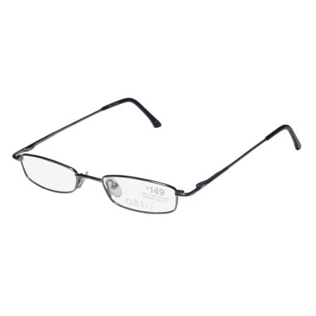 New Oasis Jasmine Womens/Ladies Designer Full-Rim Blue Light Weight Fashion Accessory Frame Demo Lenses 46-18-135 Spring Hinges Eyeglasses/Glasses (Jasmine Accessories)