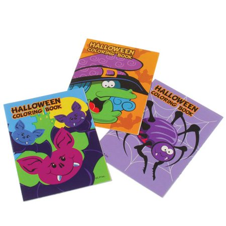 Halloween Coloring Papers (Mini Halloween Coloring Books : package of)
