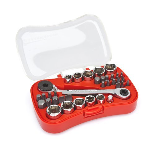 Gearwrench 85035 35 Piece Micro-screwdriver Bit And Ratchet Set