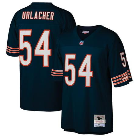 Brian Urlacher Chicago Bears Mitchell & Ness 2001 Retired Player Replica Jersey - Navy