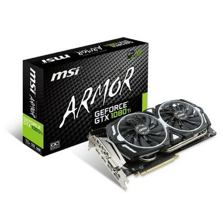 MSI GTX 1080 TI ARMOR 11G OC - G1080TAR11C