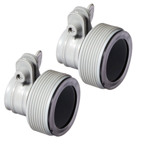 Intex 2 Pack Replacement Hose Adapter B w/ Collar ()