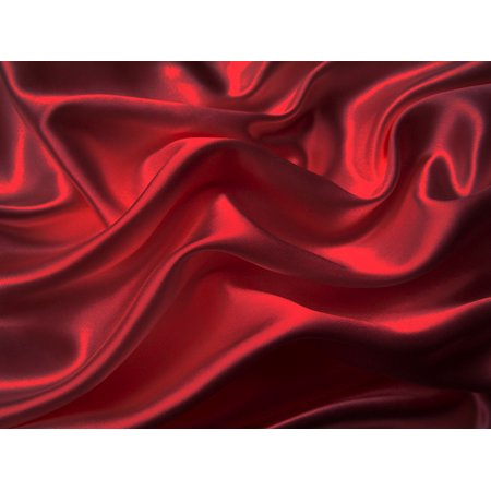 Charmeuse Jersey (4-Pc 400TC Satin Bed Sheet Pillowcase Set DP Lingerie Silky Charmeuse Red)