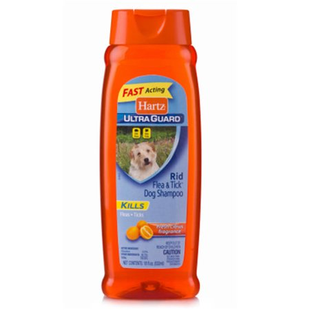 Hartz UltraGuard Citrus Flea & Tick Dog Shampoo, 18 Fl (Best Dog Shampoo For Pugs)