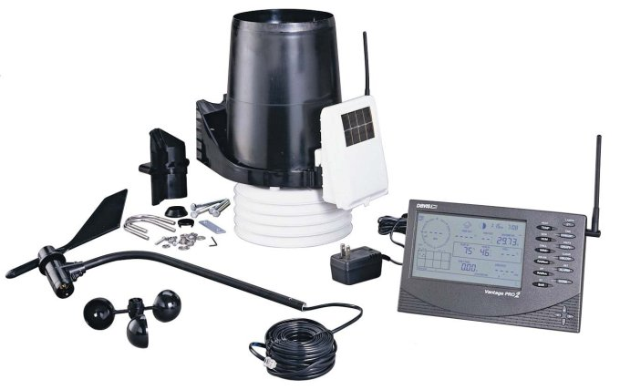 Davis Instruments Vantage Pro2 Weather Station (Wireless) by