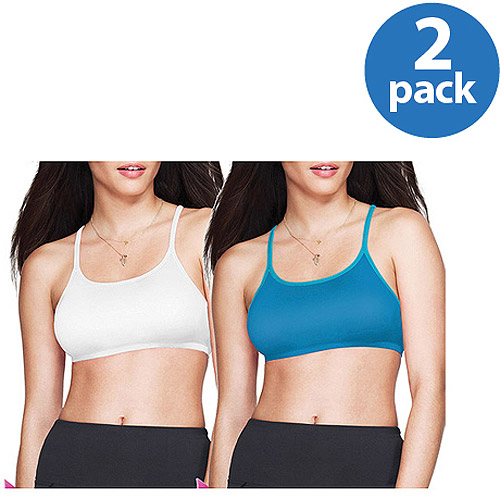 Maidenform Sweet Nothings Active Spaghetti-Strap Sports Bra Style 8441, 2-Pack