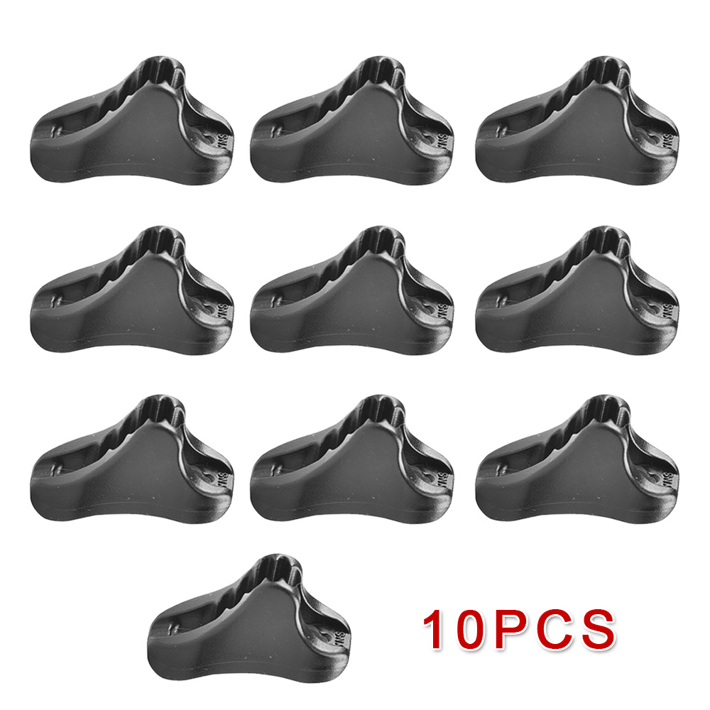 10pcs Camping Tent Cord Rope Fastener Guy Line Tensioners Runners Equipment