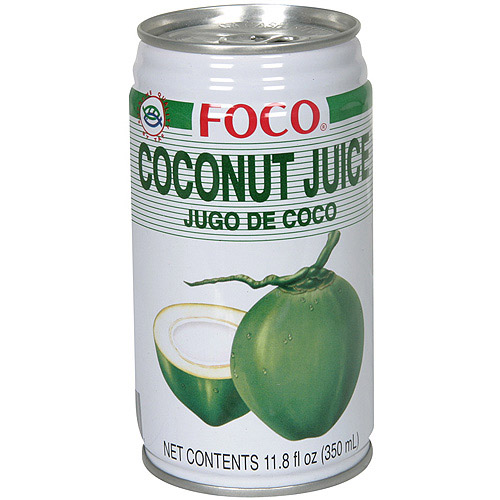 Foco Coconut Juice, 11.8 oz (Pack of 24) by Generic