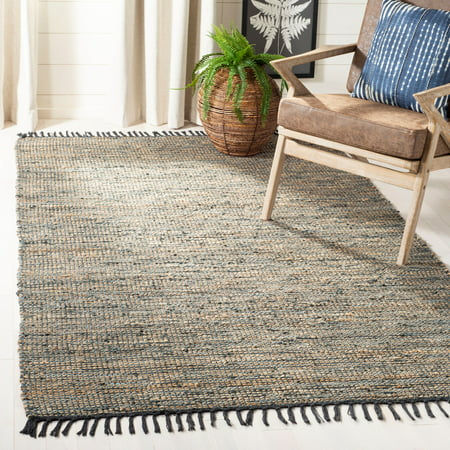 Safavieh Vintage Leather Zharko Solid Braided Area Rug Or Runner
