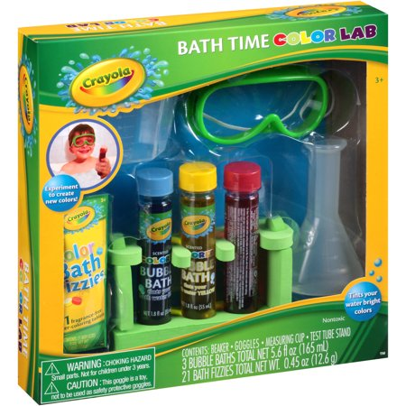 Crayola Bath Time Color Lab Gift Set 28 Pc