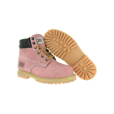Safety Girl - SafetyGirl Steel Toe Waterproof Womens Work Boots - Light  Pink -7M - Walmart.com 6a901a94fc