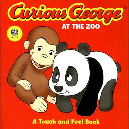 Curious George at the Zoo A Touch and Fe (Board Book)