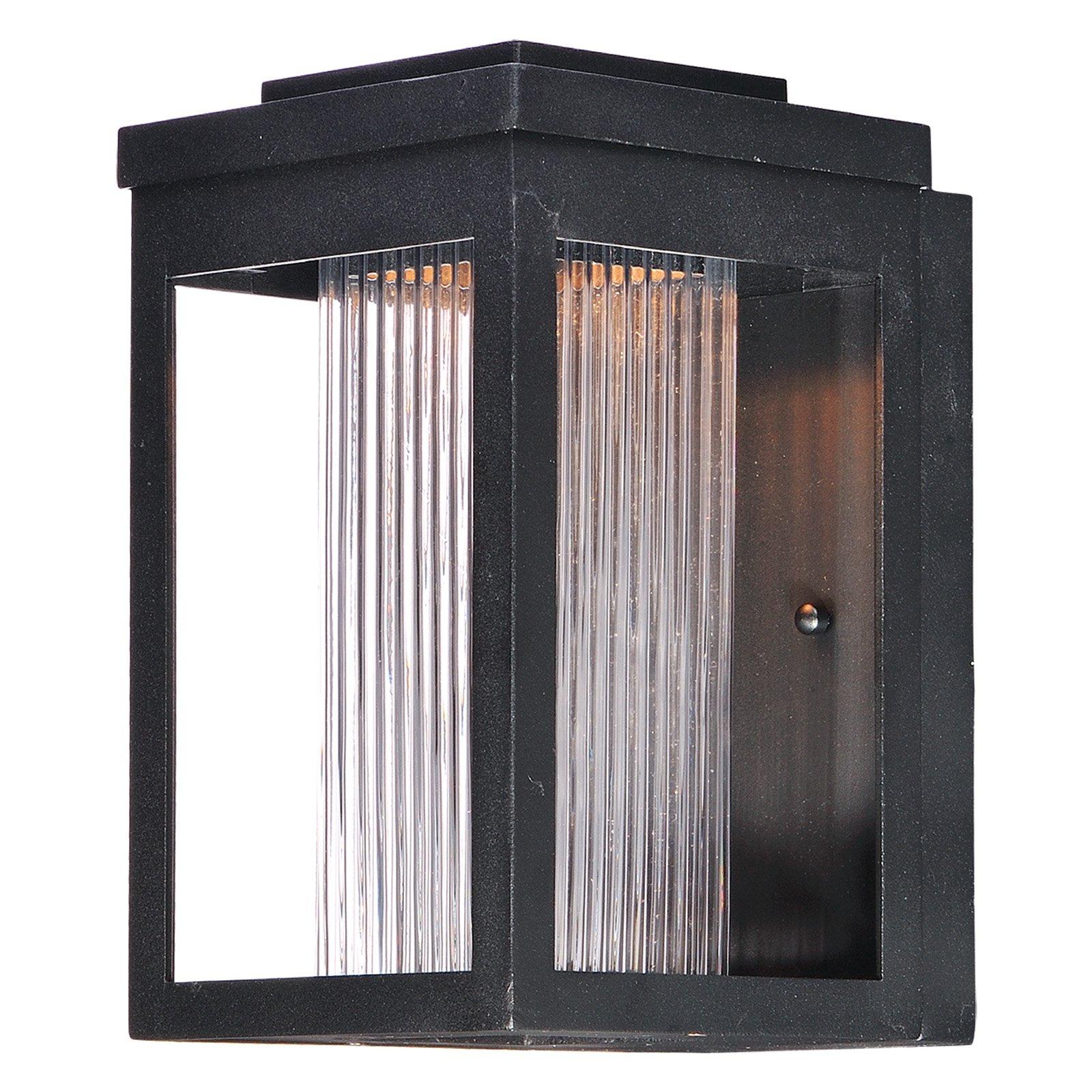 Maxim Lighting Salon 55902CRBK LED Outdoor Wall Sconce