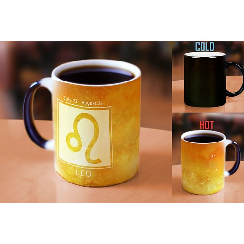 Latitude Run Ferndown Birthday Zodiac Sign (Leo) Heat Reveal Ceramic Coffee Mug