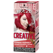 Best Bright Red Hair Dyes - Got2b Creative Semi-Permanent Hair Color, 092 Luscious Red Review