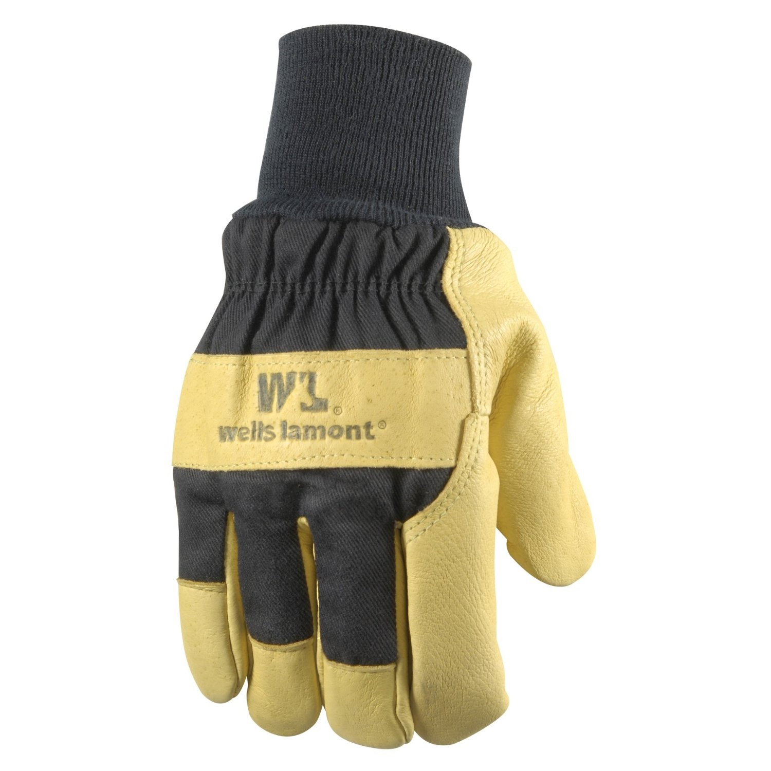 Insulated Mens Pigskin Lined Leather Glove L