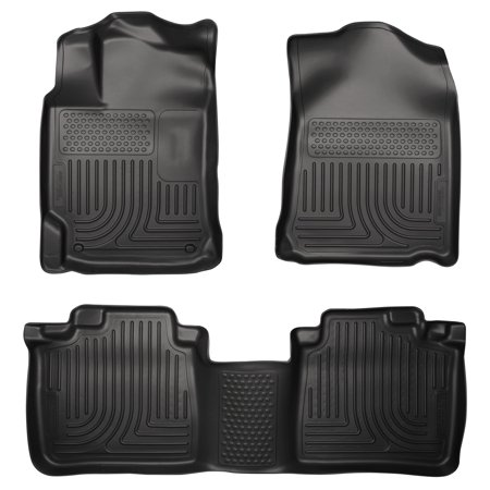 Husky Liners Front & 2nd Seat Floor Liners Fits 13-15 ES300h, 13-17 (Lexus Es350 Floor Liner)