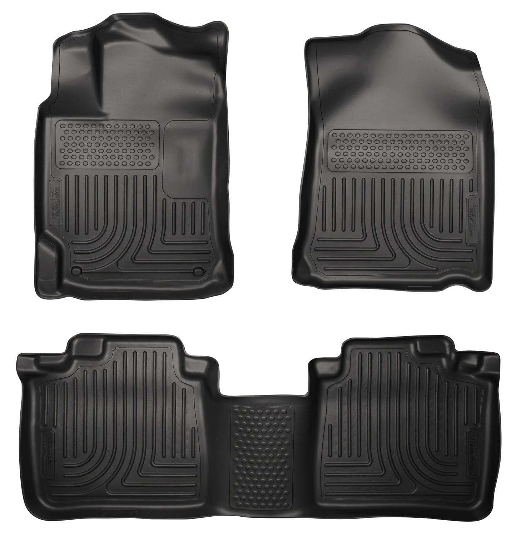 Husky Liners Front & 2nd Seat Floor Liners Fits 13-15 ES300h, 13-17 ES350