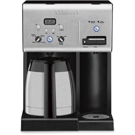 Coffee Maker Plus Hot Water : Cuisinart Coffee Plus 10-Cup Thermal Coffeemaker and Hot Water CHW-14 - Walmart.com