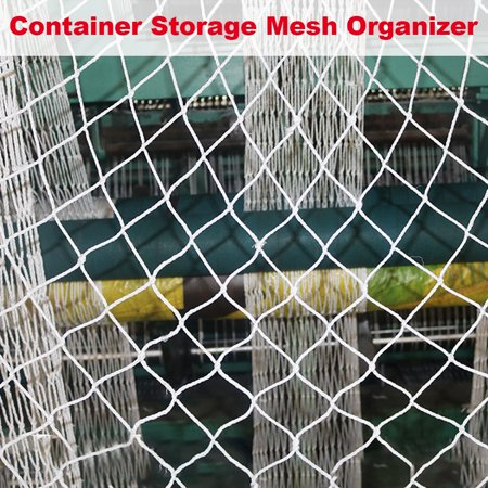 Heavy Duty Cargo Net Stretchable Car Trunk Mesh, Universal Adjustable Elastic Truck Net -falling Net, Container Storage Mesh Organizer Bungee for Container, SUV, Truck, 2.3*2.6m - image 7 of 7