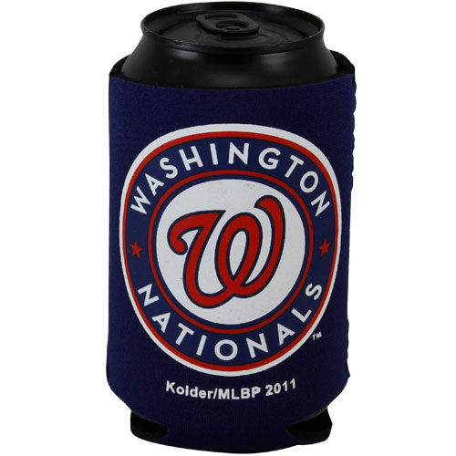 Washington Nationals Navy Blue Collapsible Can Cooler - No Size