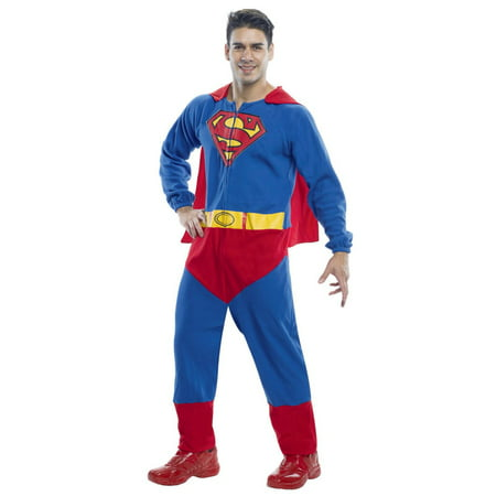Men's Superman Adult Onesie Halloween Costume