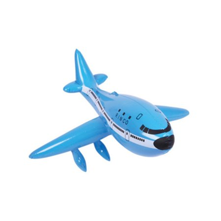 Blue Inflatable 747 Jet Liner Airplane Aviation Pilot Toy Decoration](Inflatable Decoration)