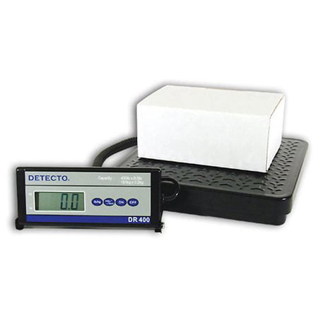 Detecto Commercial Digital Scale for Receiving: 150 lb 150 Lb Joint Union